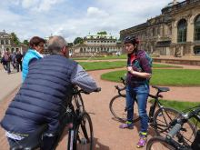 Stadtrundfahrt mit dem Fahrrad Dresden