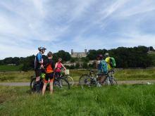 Schloss Albrechtberg mit Fahrrad erkunden