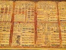 Leporello Maya-Handschrift