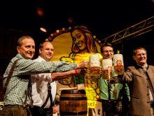 Pichmännl Oktoberfest Bier in Dresden