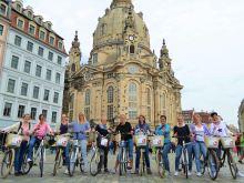 Stadtrundfahrt Fahrrad Dresden