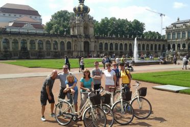 rent a bike dresden city tour