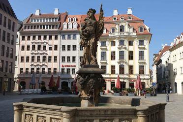 Türckenbrunnen am Neumarkt