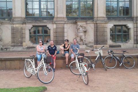 Stadtrundfahrt mit Fahrrad im Zwinger Dresden