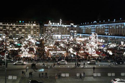 Striezelmarkt Rundgang Dresden