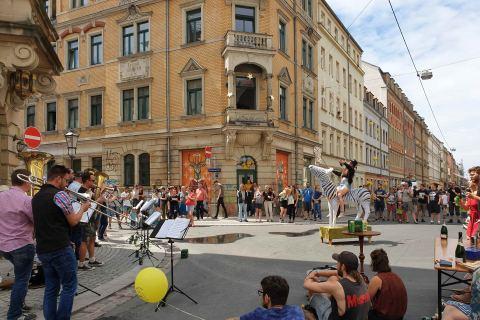 Stadtrundgang alternativ Dresden Neustadt