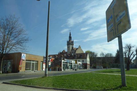Ortskern Altcotta mit Rathaus Architekturführung Dresden