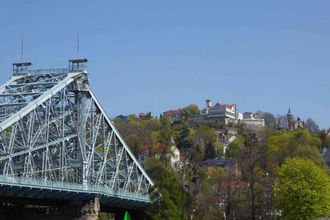 Stadtführung Dresden Blaues Wunder und Loschwitz