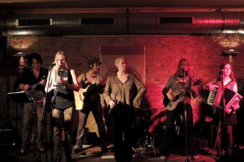 Band Die Gabys Frauentag Dresden