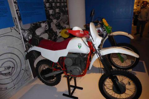 Melkus Motorrad im Verkehrsmuseum