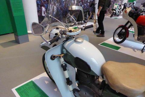 Polizeimotorrad DDR-Zeit