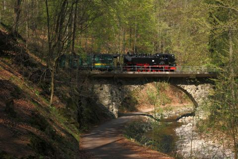 Weißeritztalbahn Fahrrad Tour