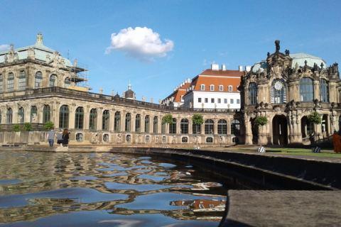 Zwinger im Sommer Dresden Reise