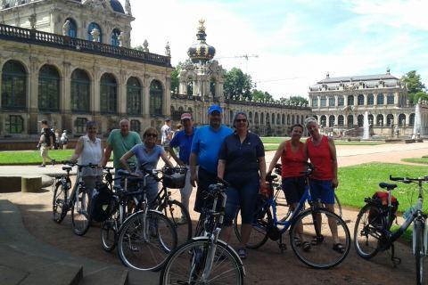Radurlaub Rad fahren Sachsen Dresden Zwinger