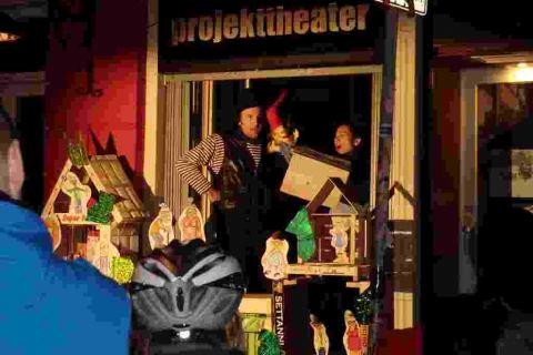 Projekttheater Starundfahrt Weihnachten Dresden