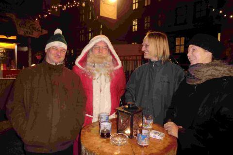 Nikolaus Neustadt Stadtführund zu Weihnachten in Dresden