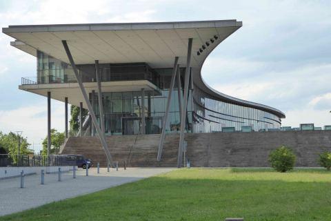 Kongresszentrum Dresden Stadtführung Architektur