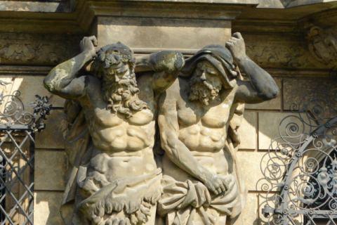Skulpturen Residenzschloss