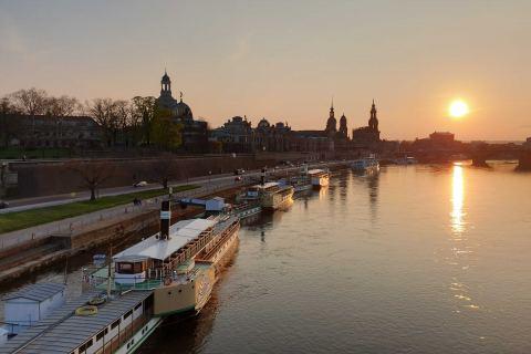 Elbe am Abend Stadtführung